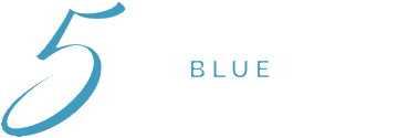 5 Blue Travel Logo